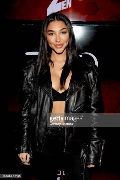 Chantel Jeffries attends TAO Group's Big Game Takeover presented by Tongue Groove on February 2 2019 in Atlanta Georgia