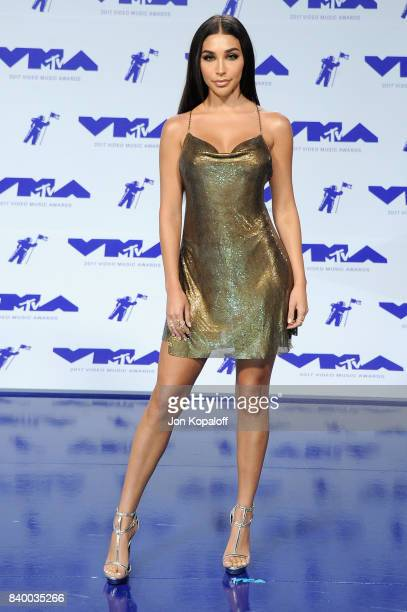 Chantel Jeffries attends the 2017 MTV Video Music Awards at The Forum on August 27 2017 in Inglewood California