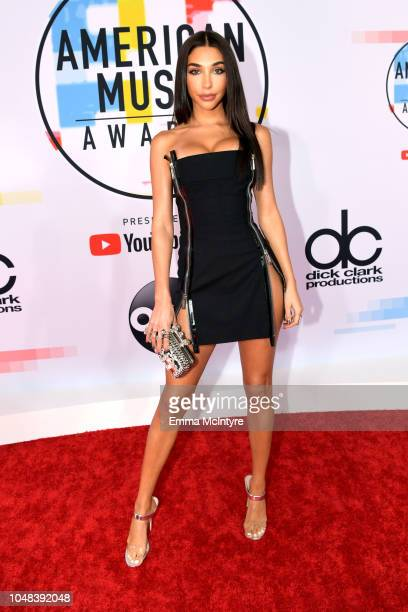 Chantel Jeffries attends the 2018 American Music Awards at Microsoft Theater on October 9 2018 in Los Angeles California
