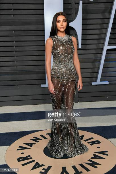 Chantel Jeffries attends the 2018 Vanity Fair Oscar Party hosted by Radhika Jones at Wallis Annenberg Center for the Performing Arts on March 4 2018...