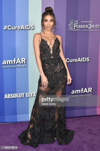 Chantel Jeffries attends the 2019 amFAR Gala Los Angeles at Milk Studios on October 10 2019 in Los Angeles California