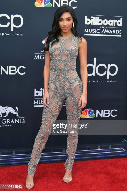Chantel Jeffries attends the 2019 Billboard Music Awards at MGM Grand Garden Arena on May 1 2019 in Las Vegas Nevada
