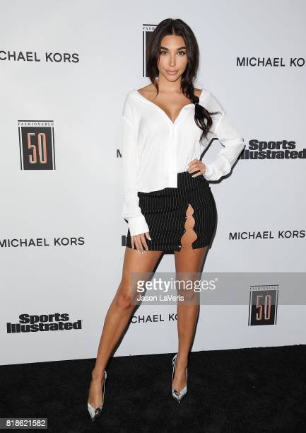 Chantel Jeffries attends the Sports Illustrated Fashionable 50 event at Avenue on July 18 2017 in Los Angeles California