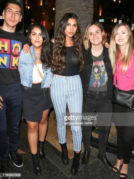 Chantel Jeffries is seen on August 07 2019 in Los Angeles California