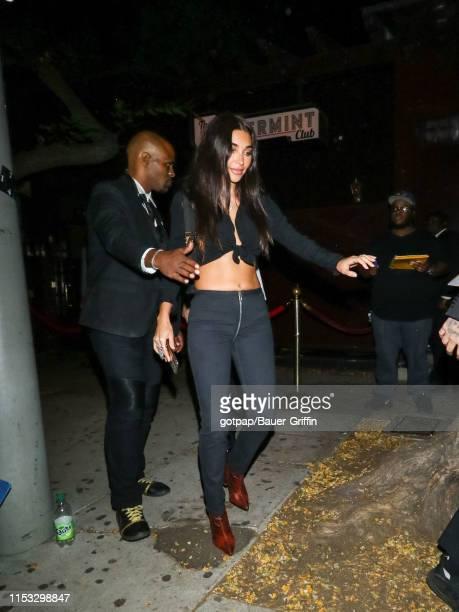 Chantel Jeffries is seen on July 02 2019 in Los Angeles California