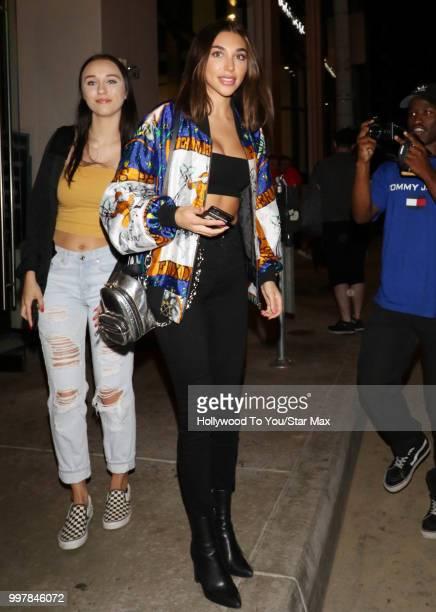 Chantel Jeffries is seen on July 12 2018 in Los Angeles California