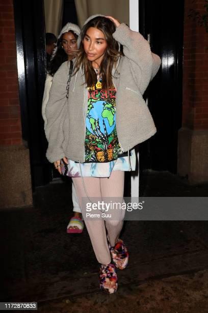 Chantel Jeffries is seen on September 06 2019 in New York City