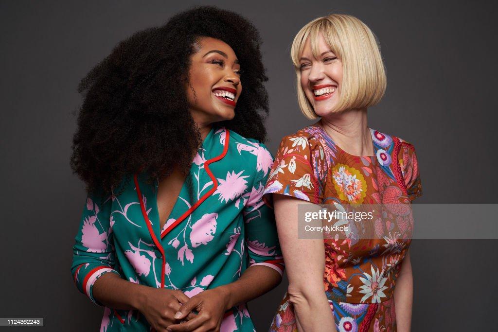 2019 Winter TCA Getty Images Portrait Studio : Nachrichtenfoto