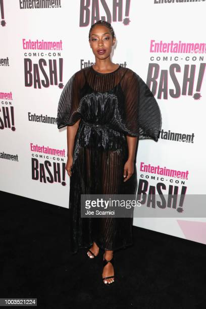 Chantel Riley attends Entertainment Weekly's ComicCon Bash held at FLOAT Hard Rock Hotel San Diego on July 21 2018 in San Diego California sponsored...