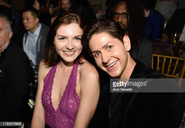 Chantelle Albers and Arthur Bryan Marroquin at Los Angeles Fashion Week FW/19 Powered by Art Hearts Fashion at The Majestic Downtown on March 23,...