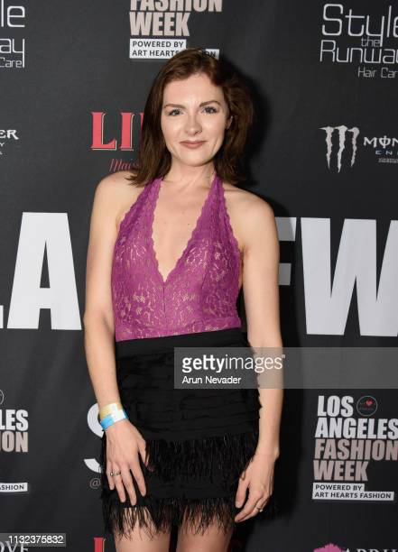 Chantelle Albers at Los Angeles Fashion Week FW/19 Powered by Art Hearts Fashion at The Majestic Downtown on March 23, 2019 in Los Angeles,...