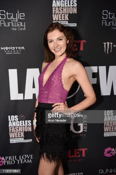 Chantelle Albers at Los Angeles Fashion Week FW/19 Powered by Art Hearts Fashion at The Majestic Downtown on March 23 2019 in Los Angeles California