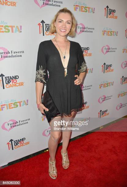 Chantelle Albers at the Farrah Fawcett Foundation's TexMex Fiesta 2017 at Wallis Annenberg Center for the Performing Arts on September 9 2017 in Los...