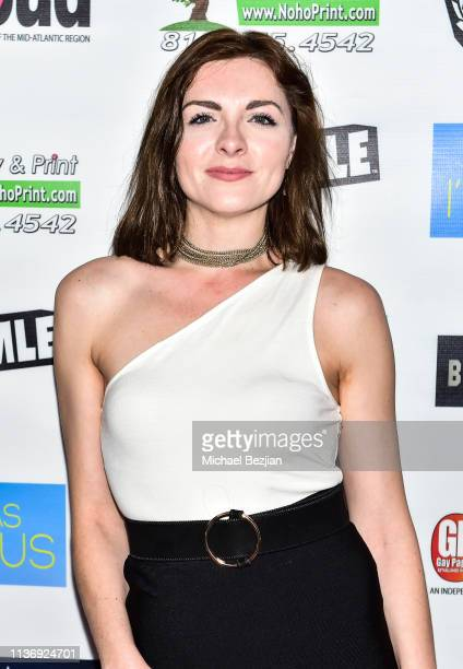 Chantelle Albers attends As Long As I'm Famous World Premiere on March 16 2019 in Beverly Hills California