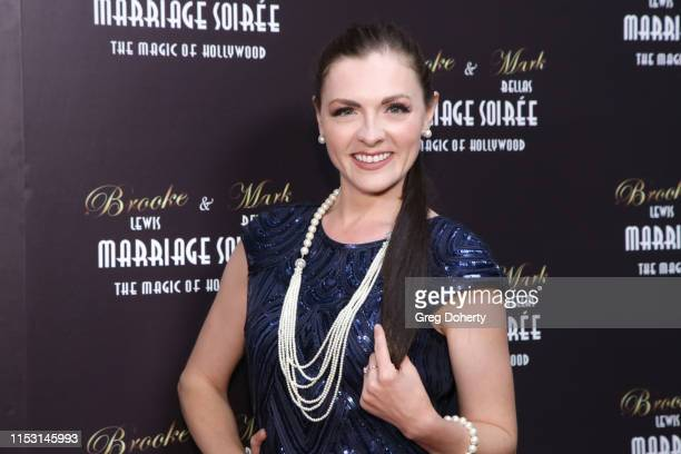 Chantelle Albers attends Brooke Mark's Marriage Soiree The Magic Of Hollywood at the Houdini Estate on June 01 2019 in Los Angeles California