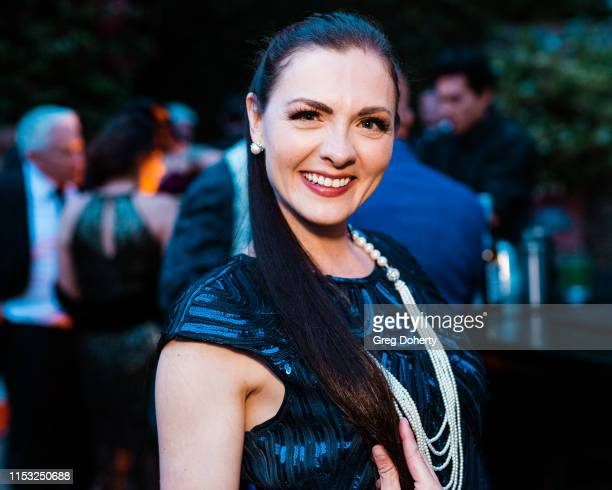 "Chantelle Albers attends Brooke & Mark's Marriage Soiree ""The Magic Of Hollywood"" Houdini Estate on June 01, 2019 in Los Angeles, California."