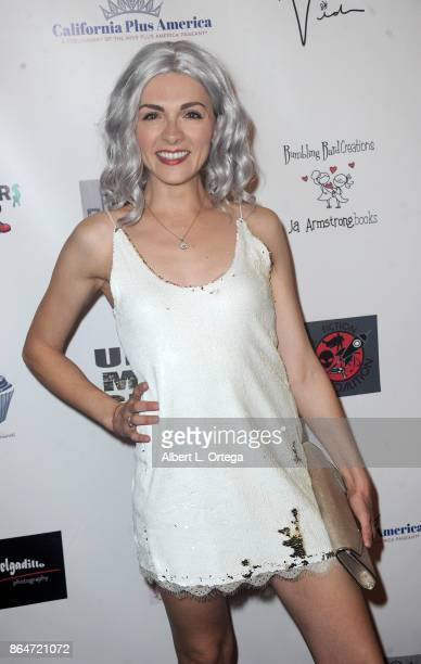 Chantelle Albers attends Halloween Hotness 4 Heating Up For The Cure held at American Legion Hall on October 15 2017 in Los Angeles California