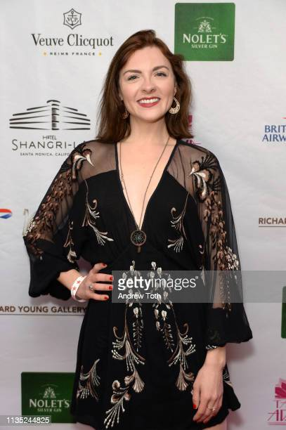 Chantelle Albers attends Hotel ShangriLa's Diamond Jubilee Launch at Hotel ShangriLa on March 11 2019 in Santa Monica California