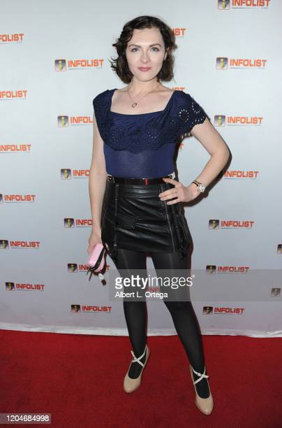 Chantelle Albers attends INFOlist.com's Pre-OSCAR Soiree and Birthday Party for founder Jeff Gund held at SkyBar at the Mondrian Los Angeles on...