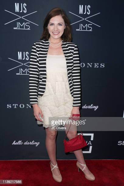 Chantelle Albers attends Matt Sarafa and Jonathan Marc Stein's new 'Rich' clothing line release and fashion show on March 29 2019 in Los Angeles...