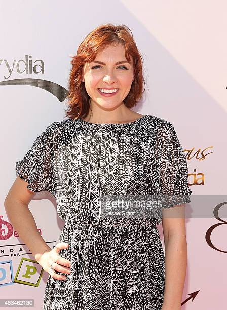 Chantelle Albers attends the Dencia Foundation for Hope 2015 Charity Event at Covenant House on February 14 2015 in Los Angeles California