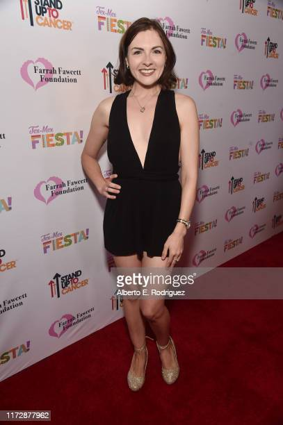Chantelle Albers attends the Farrah Fawcett Foundation's TexMex Fiesta on September 06 2019 in Los Angeles California
