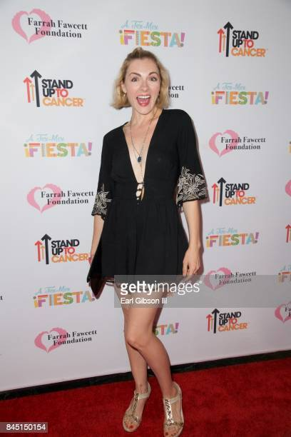 Chantelle Albers attends the Farrah Fawcett Foundation's TexMex Fiesta Honoring Stand Up To Cancer at Wallis Annenberg Center for the Performing Arts...