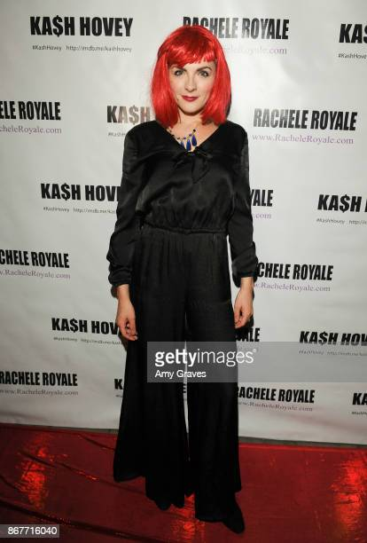 Chantelle Albers attends the Halloween Event Hosted by Kash Hovey and Rachele Royale at Velvet Margarita on October 28 2017 in Hollywood California