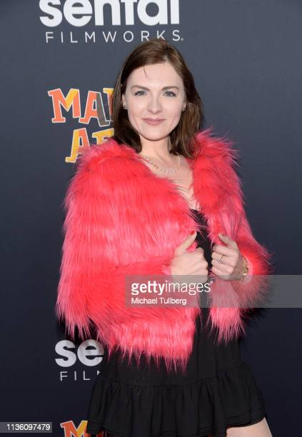 Chantelle Albers attends the premiere of Sentai Filmworks' Made In Abyss Journey's Dawn at Regal Cinemas LA Live on March 15 2019 in Los Angeles...