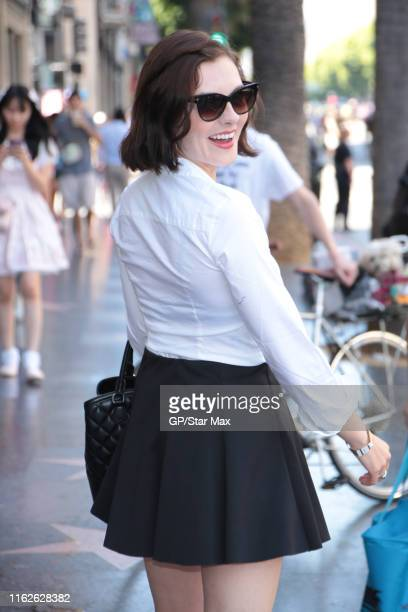 Chantelle Albers is seen on August 18 2019 in Los Angeles