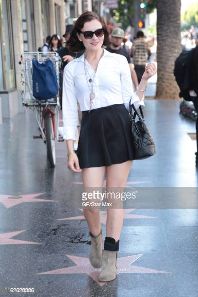 Chantelle Albers is seen on August 18, 2019 in Los Angeles.
