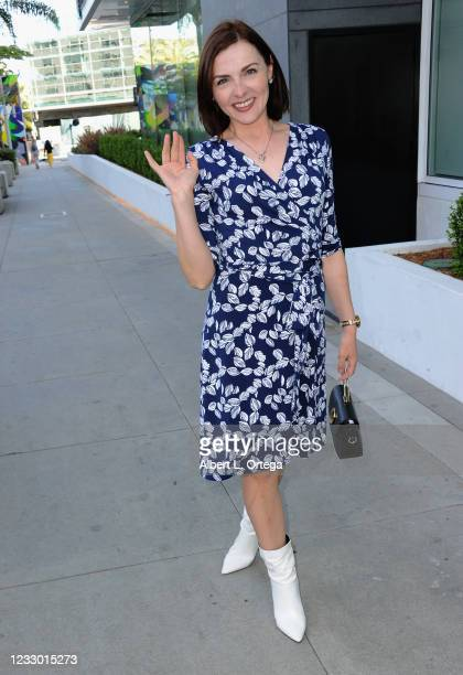 Chantelle Albers is seen on May 20, 2021 in Beverly Hills, California.