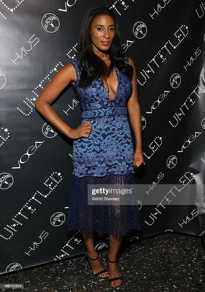 Chantelle Fraser attends The Untitled Magazine Celebrates The #GirlPower Issue at Haus on September 16, 2015 in New York City.