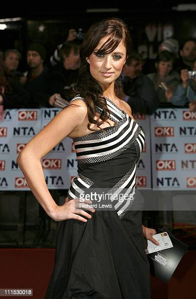 Chantelle Houghton during 12th Anniversary National Television Awards Arrivals at Royal Albert Hall in London Great Britain
