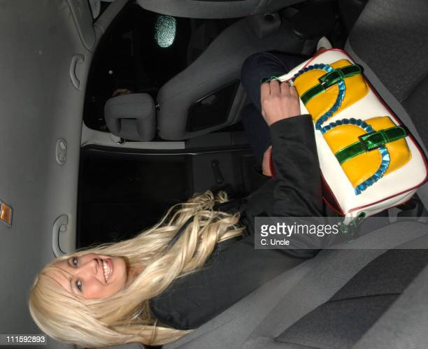 Chantelle Houghton during British Book Awards 2006 Departures at Grosvenor House in London Great Britain