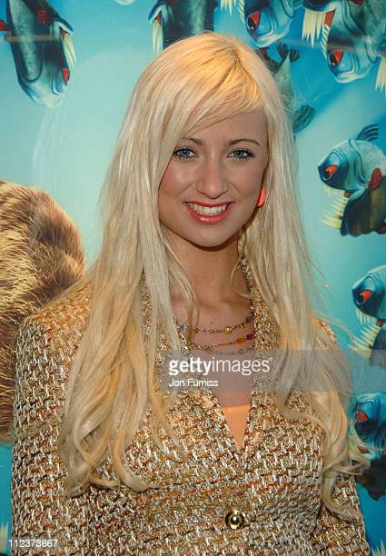 Chantelle Houghton during Ice Age 2 The Meltdown London Premiere Inside Arrivals at Leicester Square in London Great Britain