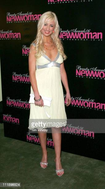 Chantelle Houghton during New Woman 2006 Beauty Awards April 11 2006 at Dorchester Hotel in London Great Britain
