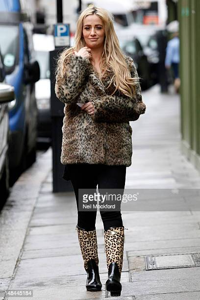 Chantelle Houghton seen out and about on July 16 2012 in London England