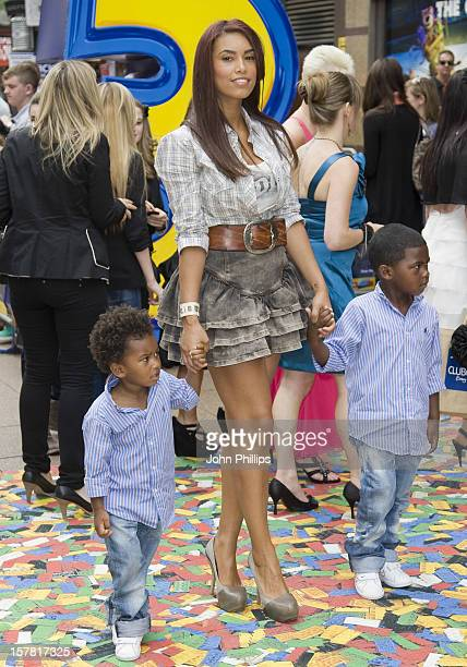 Chantelle Tagoe Arrives For The Toy Story 3 Premiere At Empire Leicester Square Central London