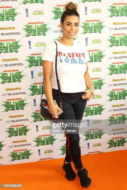 Chantelle Tagoe attends 'Nickelodeon SLIMEFEST' at Blackpool Pleasure Beach on October 20 2018 in Blackpool England Highlights from the slimefilled...