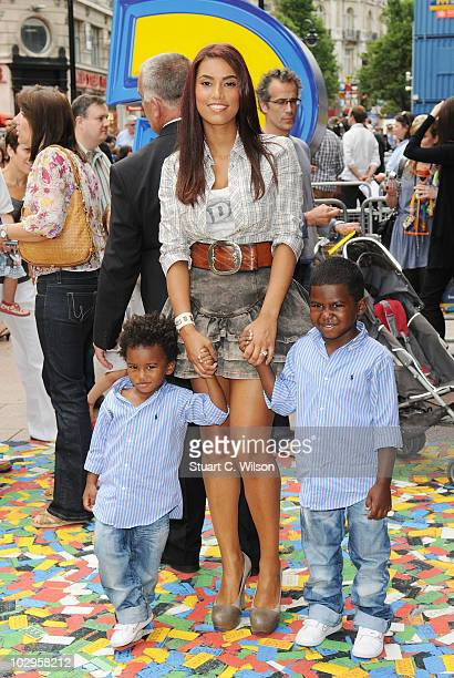 Chantelle Tagoe attends the Toy Story 3 UK film premiere at the Empire Leicester Square on July 18 2010 in London England