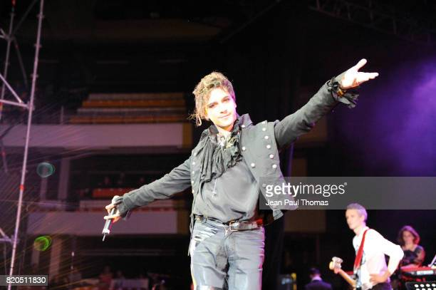 Chanteur de la comedie Musicale MOZART - - Foot Concert 2009 - Evenement caritatif reunissant stars du football et de la chanson au profit de l...