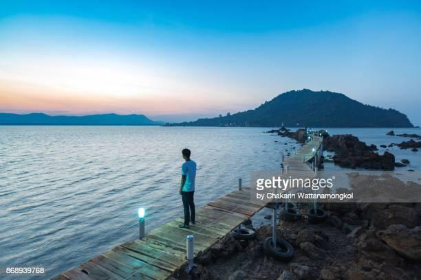 chanthaburi sea view - ao khung kraben bay. - chanthaburi sea stock pictures, royalty-free photos & images