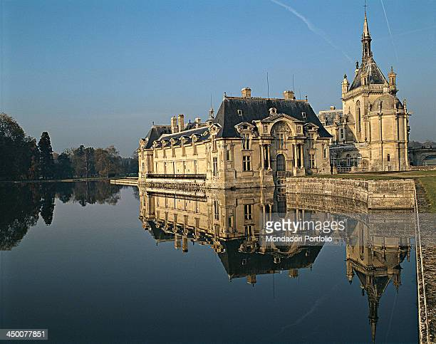 Chantilly Castle by Jean Bullant Honoré Daumet 1358 1882 13th 18th Century