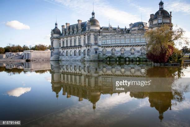 Chantilly : castle 'chateau de Chantilly'.