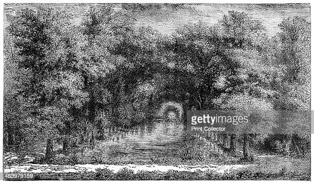 Chantilly Park Paris France The landscaped gardens at the chateau in Chantilly were laid out in the late 17th century by the royal gardener Andre Le...