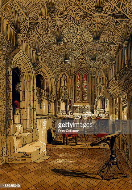 Chantry Chapel Adjoining the Beauchamp Chapel Warwick 1845 The chapel is attached to the Church of St Mary Warwick and commemorates Richard Beauchamp...