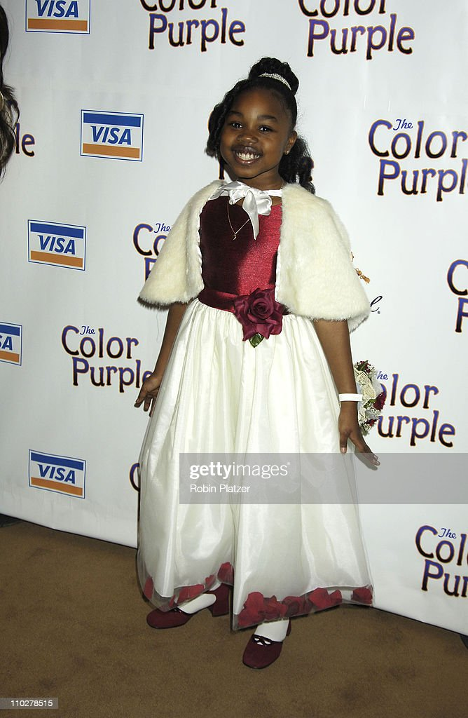 Chantylla Johnson during 'The Color Purple' Broadway Opening Night - After Party at The New York Public Library in New York City, New York, United States.