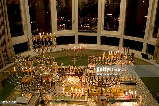 Chanukah lasts for 8 days and is the Jewish festival of light It commemorates the rededication of the temple after it had been defiled A candle is...