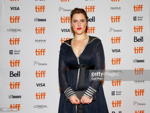 Chanya Button attends the 'Vita Virginia' premiere during 2018 Toronto International Film Festival at Winter Garden Theatre on September 11 2018 in...